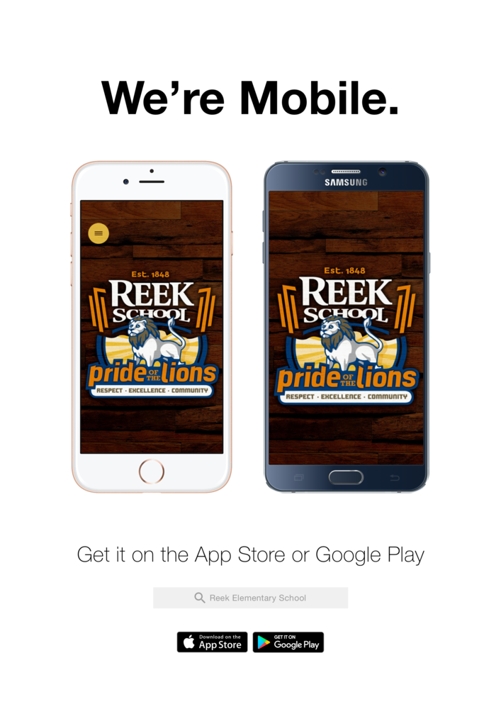 Plan Ahead With Reek's New App!